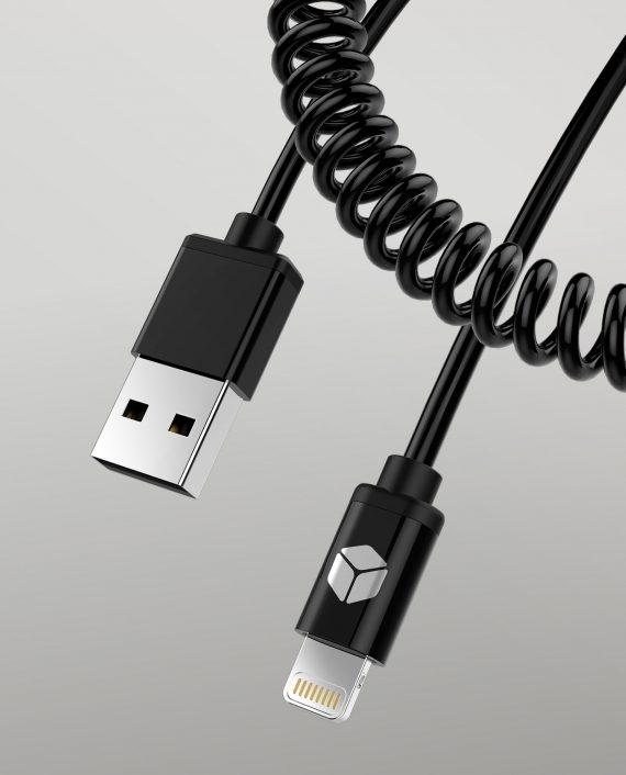 Spiral Data Cable Lightnin MFI