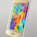 4D Glass Protector Gold